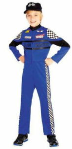 NEW Race Car Driver Costume - Kids Size Large - $ 10