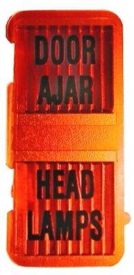 1969-1971 Corvette Door Ajar And Headlamp Tell-Tale Lens.