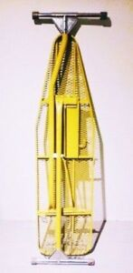 FREE DELIVERY c.1970 Yellow IRONING BOARD Antique Vintage