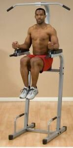 Body Solid Powerline Power Tower - Chin Up VKR Dips Push