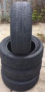 Set of 4 Michelin Harmony 225 55 R17 tires