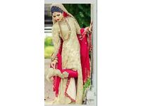 Chiffon wedding and party wear unstiched