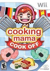 ► Nintendo Wii - Cooking Mama - Cook Off