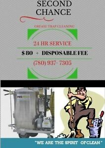 Second Chance Grease trap cleaning company. Edmonton Edmonton Area image 1