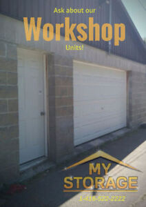 WORKSHOPS FOR RENT!