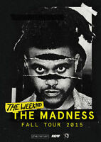 The Weeknd tickets lower bowl sec 118*NOV 3*
