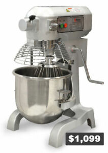Nella - Commercial 20 Qt. Heavy-Duty Mixer - Brand New - On Sale