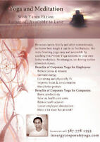 Corporate/ Private Yoga and Meditation classes