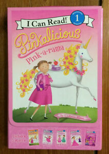 Brand New Box Set of 5 PINKALICIOUS BOOKS $10