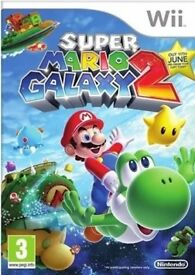 WANTED!!! Super Mario Galaxy 2 for the Wii