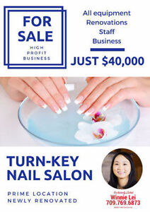 Nail Salon Business for Sale
