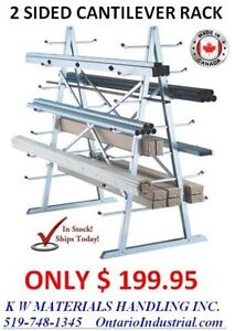 CANTILEVER RACKING IN STOCK. LOWEST PRICING & FAST DELIVERIES