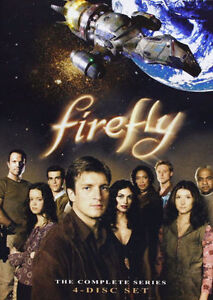 New wrapped Firefly complete series.