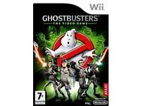 Wii Game: Ghostbusters The Video Game