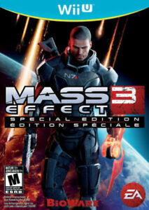 Mass Effect 3 Special Edition for Wii U in Mint Condition