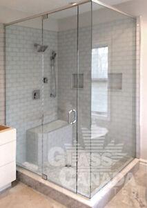 Custom Glass Shower Enclosures! Sophisticated, Trendy, Modern!