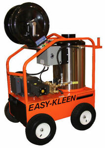 EasyKleen Hot Water 7.5hp Electric-Oil Fired Pressure Washer