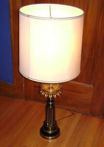 Vintage Stiffel Brass Lamps with glass reservoir (price is each) Kitchener / Waterloo Kitchener Area image 2