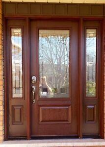 Door Installation Aluminum Capping  Cambridge Kitchener Area image 2