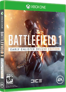 Brand New Battlefield 1 Deluxe Edition Base Game CD - Xbox One