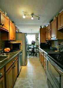 RENT Beautifully Decorated here is a 2 bedroom and 1 bathroom, o