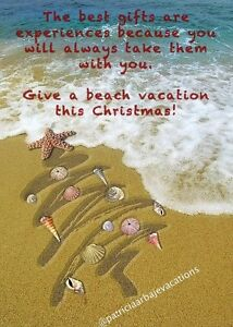 Give a beach vacation this Christmas!!!