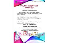 Mini scientist wanted!