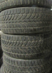 $650 TOTAL PRICE Bridgestone Blizzak LM-32 winter 235/40/18-75%