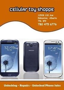 LIKE NEW - Samsung Galaxy S3 White Unlocked - FREE CASE