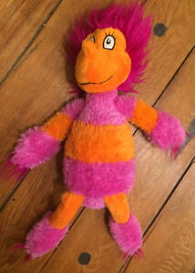 WOCKET Dr Seuss's There's a Wocket in my Pocket -stuffed toy $10