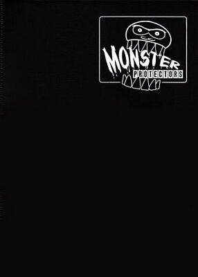 Monster Binder - 9 Pocket Trading Card Album - Matte Black (Anti-theft Pockets