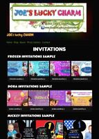 Birthday Invitations and Banners