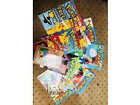 Pokemon comic and annual bundle