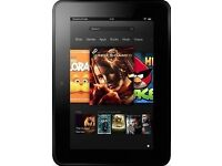 "Amazon Kindle Fire HD 7"" 16GB Very Good Condition"