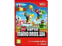 Wii: New Super Mario Bros. Wii