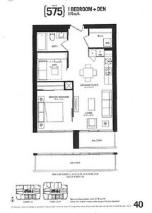 Indx Condo 46th Fl. 1 Br + Den can be 2nd Br (Assignment Sale)