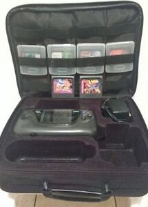 SEGA GAMEGEAR Handheld with Games & Carrying Case MINT CONDITION