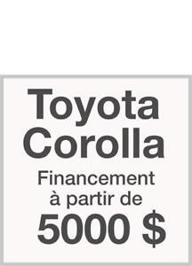 Prêt auto à partir de 5000$ à 22$ par semaine à 5.99%
