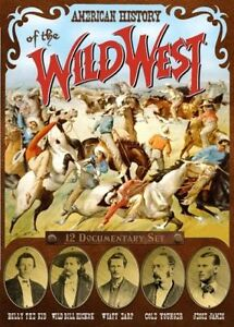 American History of the Wild West DVD