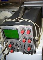 Dual Trace Oscilloscope Telequipment D54 with probes