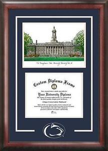 penn state diploma frame