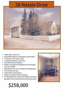 Move In Ready -- House for Sale