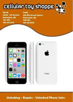 LIKE NEW - iPhone 5c 8GB White for Rogers/Chatr