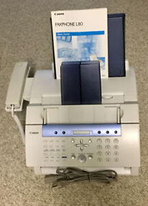 CANON L80 FAXPHONE LASER FAX MACHINE!!!
