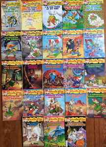 GERONIMO STILTON Books - $3 each, 4 for $10, all 23 for $50