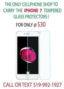 ALL IPHONE SAMSUNG LG MOTO TEMPERED GLASS PROTECTOR IN STOCK Windsor Region Ontario image 1