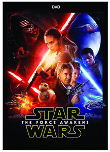 STAR WARS The Force Awakens DVD Brand New