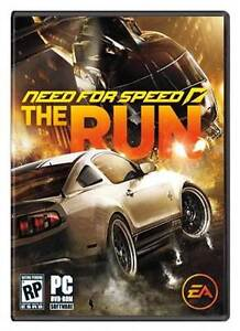 NEED FOR SPEED : THE RUN FOR PC MINT CONDITION