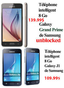 Samsung Galaxy J1  and Grand prime Smartphones UNLOCKED