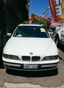 1999 BMW 5 E39 35I White Automatic Sedan Braddon North Canberra Preview